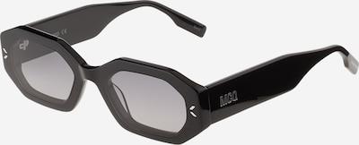 McQ Alexander McQueen Solglasögon i svart / silver, Produktvy