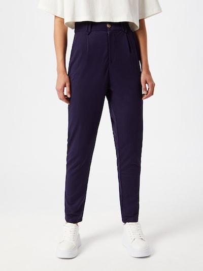 Pantaloni cutați 'Armina' ABOUT YOU pe navy, Vizualizare model