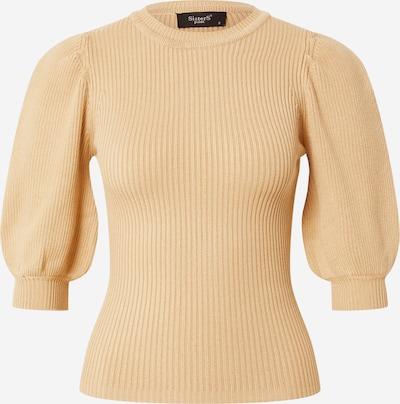 SISTERS POINT Shirt 'HALIA-SS' in de kleur Camel, Productweergave