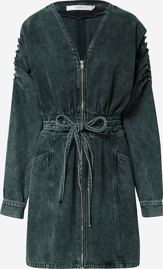 Gestuz Kleid 'Aleah' in grey denim: Frontalansicht