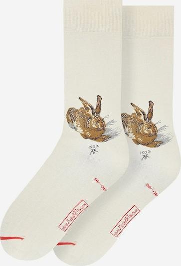 MuseARTa Sokken in de kleur Beige / Bruin, Productweergave