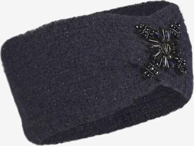 LOEVENICH Cache-oreilles ' Zopf ' en marine, Vue avec produit
