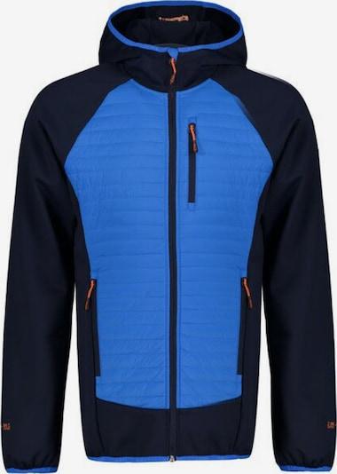 ICEPEAK Hybrid-Jacke 'FELSBERG' in blau / orange / schwarz, Produktansicht