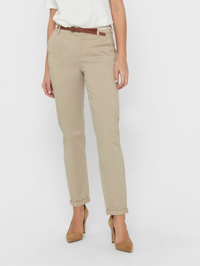 ONLY Chino trousers 'Biana' in Sand, View model