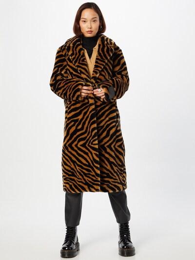 HUGO Mantel 'Marinaki' in braun / schwarz, Modelansicht
