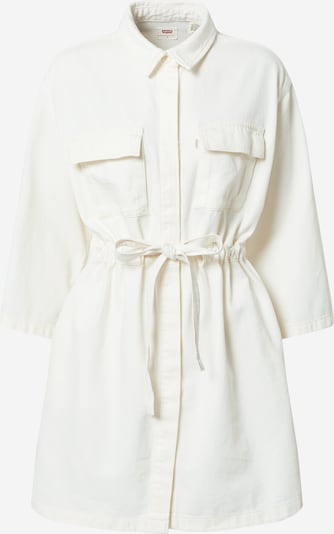 LEVI'S Dress 'AINSLEY' in White denim, Item view