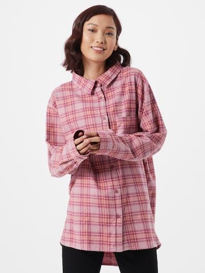 Cotton On Bluse in pastelllila / pastellorange / himbeer / weiß, Modelansicht