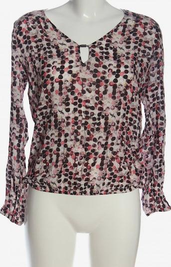 Summum Woman Schlupf-Bluse in S in creme / pink / schwarz, Produktansicht