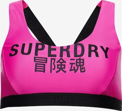 Superdry Bikinitop in de kleur Pink / Zwart, Productweergave