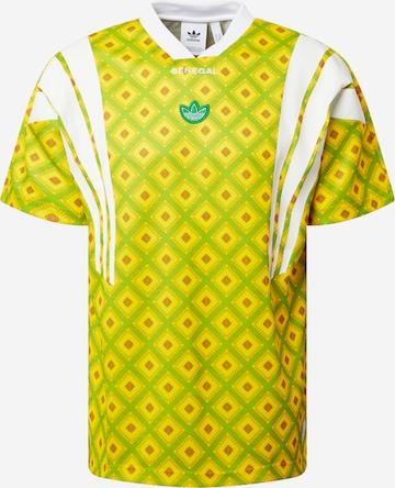 T-Shirt 'Senegal' ADIDAS ORIGINALS en vert
