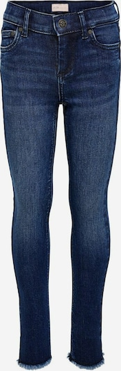 KIDS ONLY KONBLUSH RAW Skinny Fit Jeans in blau, Produktansicht