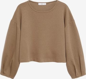 MANGO Sweatshirt 'Paul' in Brown