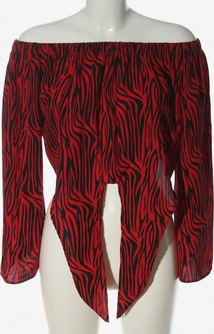 QED London Carmen-Bluse in L in Rot