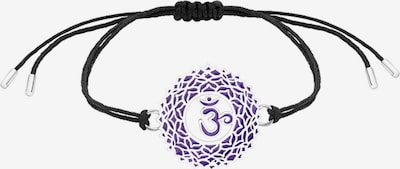 Nenalina Armband 'Chakra' in lila / schwarz, Produktansicht