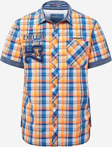 CAMP DAVID Skjorte i oransje