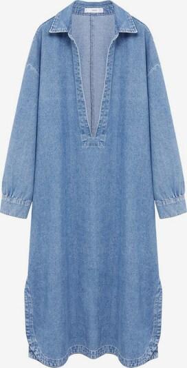 MANGO Kleid 'Tunic-I' in blau, Produktansicht