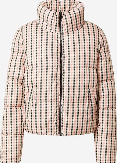 ONLY Prechodná bunda 'Tabitta' - tmavosivá / svetloružová / biela, Produkt