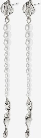 Pilgrim Kolczyki 'Simplicity' w kolorze srebrnym: Widok z przodu