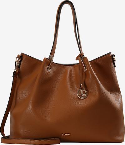 L.CREDI Shopper Ebony Shopper in braun, Produktansicht