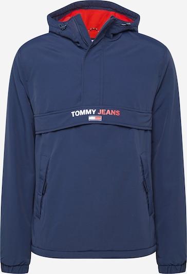 Tommy Jeans Tussenjas in de kleur Navy / Watermeloen rood / Wit, Productweergave