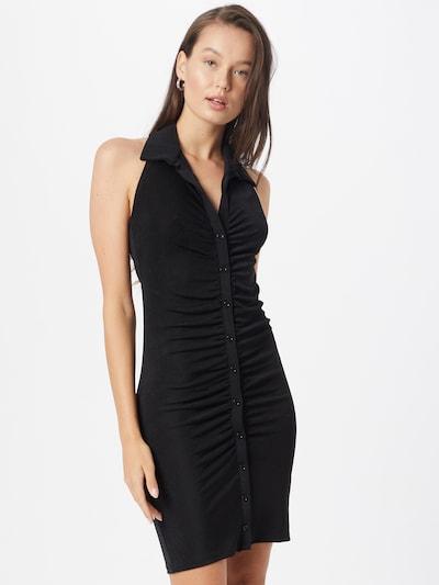 Rochie tip bluză 'Dolly' Gina Tricot pe negru, Vizualizare model