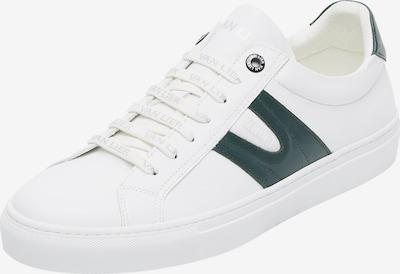 Van Lier Chaussure de sport à lacets 'Novara' en émeraude / blanc, Vue avec produit