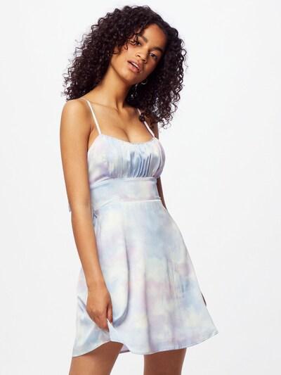 világoskék / világoslila / fehér HOLLISTER Nyári ruhák, Modell nézet