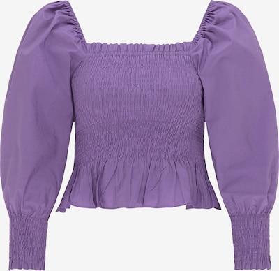 myMo ROCKS Bluse in lila, Produktansicht