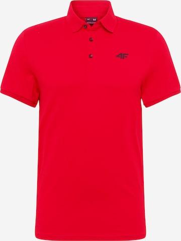 Tricou funcțional de la 4F pe roșu