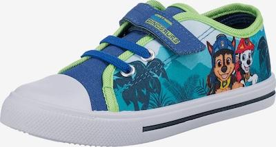PAW Patrol Sneaker in himmelblau / pastellblau / hellbraun / schilf / weiß, Produktansicht