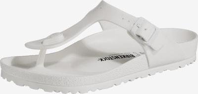 Flip-flops ' Gizeh EVA W ' BIRKENSTOCK pe alb, Vizualizare produs