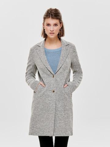 Manteau mi-saison 'Carrie Mel' ONLY en gris