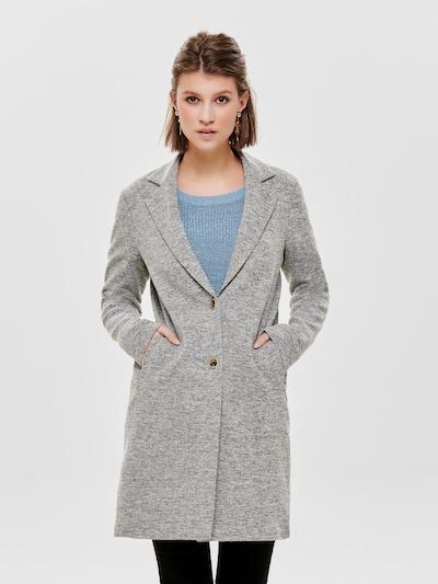 ONLY Prechodný kabát 'Carrie Mel' - sivá melírovaná, Model/-ka