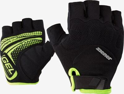 ZIENER Handschuhe 'COLIT' in gelb / schwarz, Produktansicht