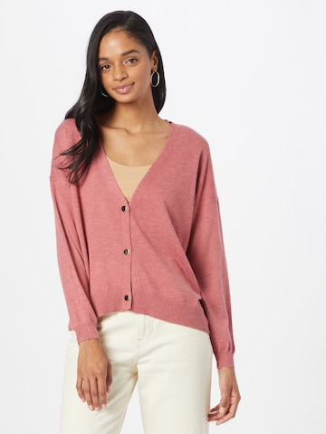 ONLY Knit Cardigan 'ALONA' in Red