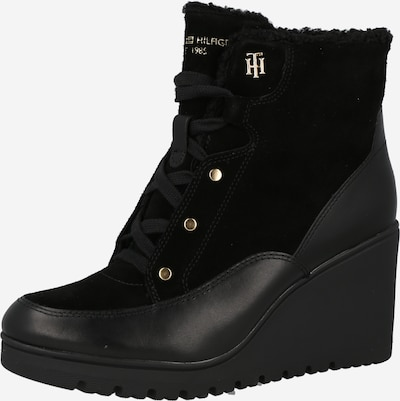 TOMMY HILFIGER Lace-Up Ankle Boots in Black, Item view
