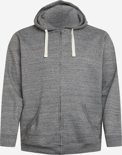 Blend Big Sweat jacket 'NORTH' in Grey, Item view