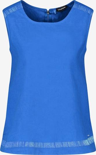 Bluză TAIFUN pe albastru regal, Vizualizare produs