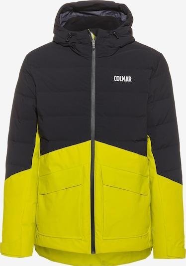 Colmar Skijacke in gelb / schwarz, Produktansicht