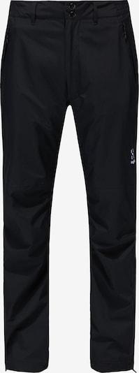 Haglöfs Outdoorhose 'Astral GTX' in schwarz / weiß, Produktansicht