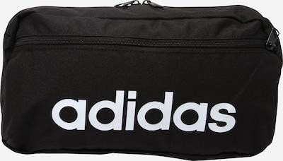 ADIDAS PERFORMANCE Спортна чанта за кръста 'LINEAR' в черно / бяло, Преглед на продукта