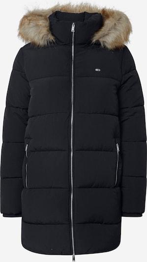 Tommy Jeans Vinterfrakke i sort, Produktvisning