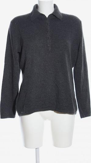 S.MILTON Cashmerepullover in XL in hellgrau, Produktansicht