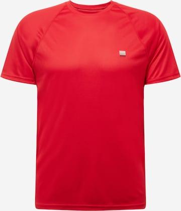 sarkans Superdry Sporta krekls 'Train Active'