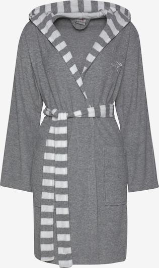 KangaROOS Bademantel in grau / weiß, Produktansicht