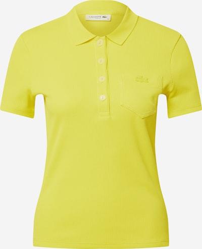 LACOSTE Poloshirt in gelb, Produktansicht