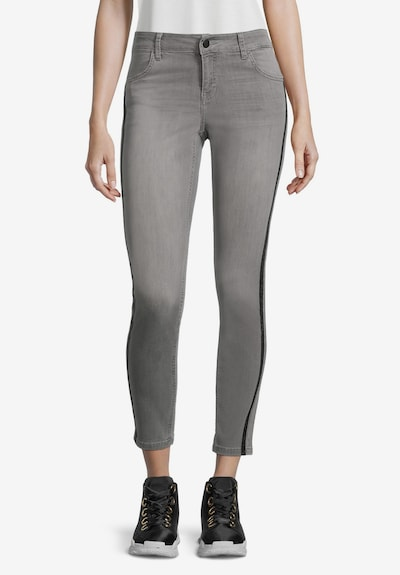Cartoon Jeans in grau, Modelansicht