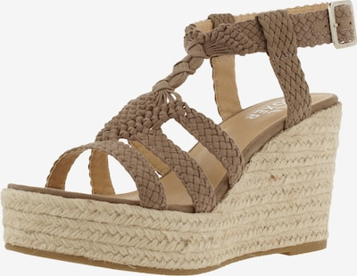 BULLBOXER Sandale in dunkelbeige, Produktansicht