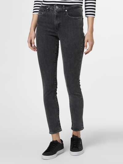 LEVI'S Jeans '721' in grey denim, Modelansicht