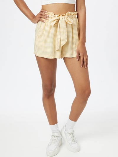 HOLLISTER Kalhoty - žlutá, Model/ka